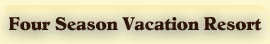 Year Round Vacation Resort & Lodging in Northern WI